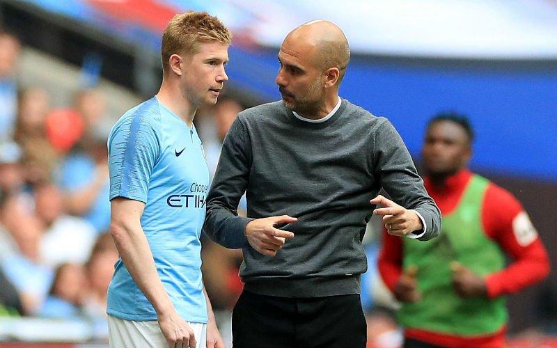 'Manchester City houdt rekening met vertrek van Kevin De Bruyne'