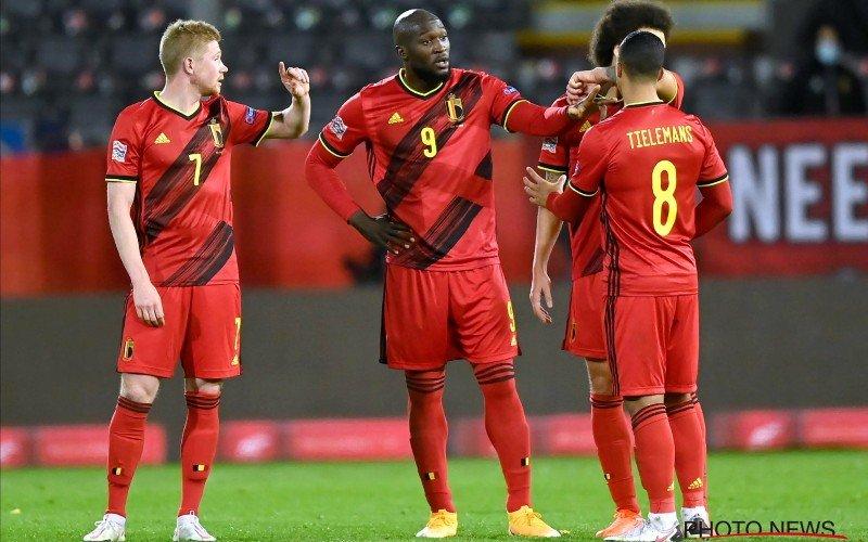 Opstelling Rode Duivels: De Bruyne start, verrassende vervanger voor Hazard