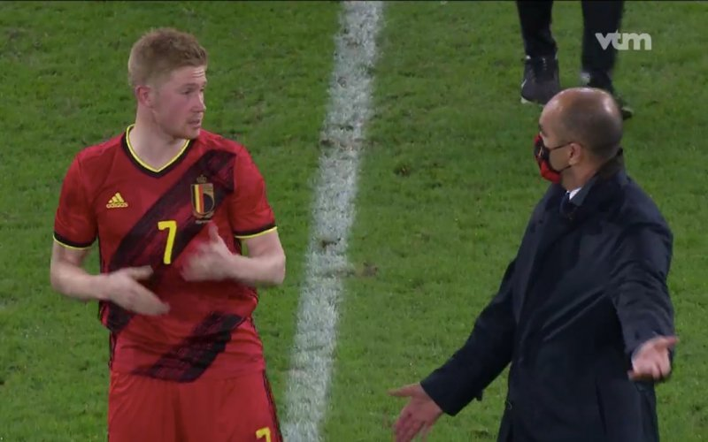 """""""Dit zei Kevin De Bruyne tegen Roberto Martinez tijdens pittige discussie"""""""
