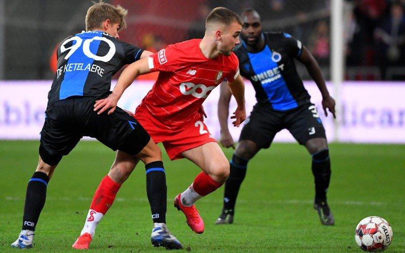 'Roberto Martinez in tribune tijdens Standard-Club Brugge voor déze speler'