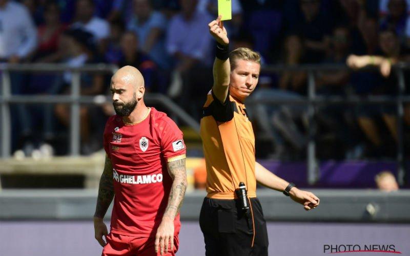 Defour zorgt voor commotie tijdens Anderlecht-Antwerp: