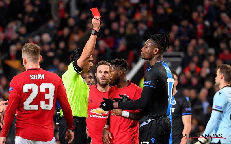Club Brugge bestolen tegen Man Utd: 'Daarom had Deli géén rood mogen krijgen'