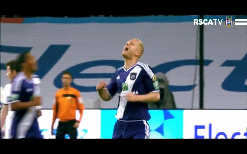 Anderlecht heeft nog prachtig afscheid in petto voor Deschacht (Video)