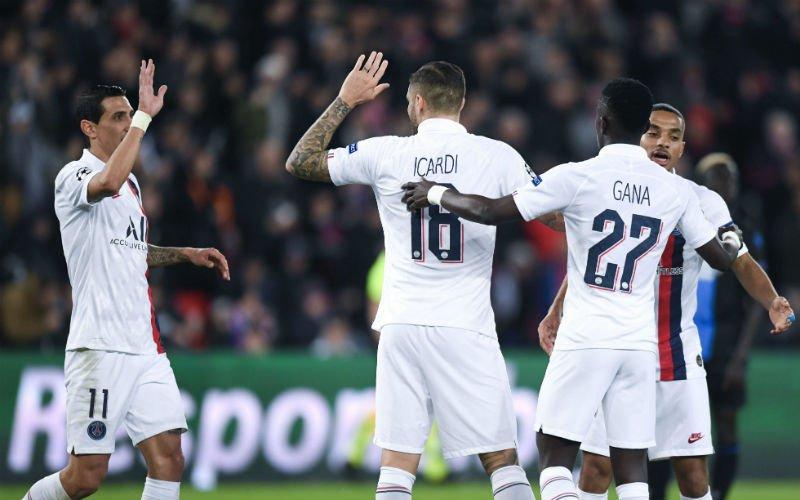 Egoïstische Diagne mist strafschop en kost Club Brugge een punt in Parijs