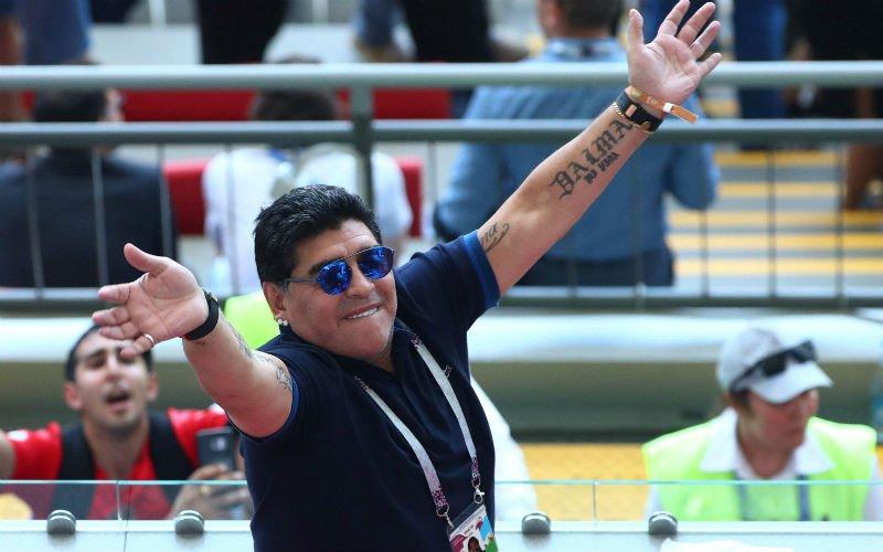 Diego Maradona weet nu al wie clash tussen België en Brazilië zal winnen