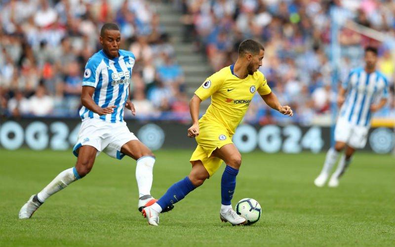 Invalbeurt van Hazard tegen Huddersfield was fenomenaal