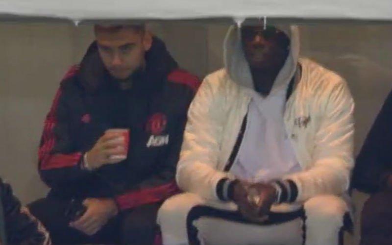 Pogba bolt het af tijdens blamage van Man United(VIDEO)