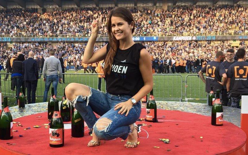 WAG van Poulain pakt na Club-Genk uit met ondeugende video