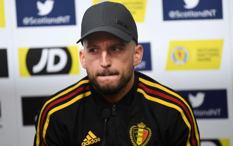 Dries Mertens is kwaad: