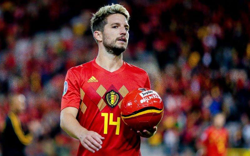 'Dries Mertens staat ineens voor érg verrassende transfer'