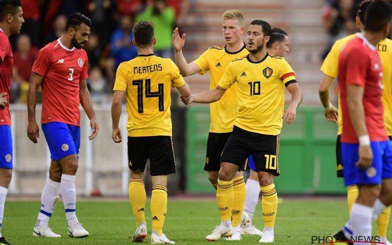 Dries Mertens schept duidelijkheid over blessure van hemzelf en Hazard