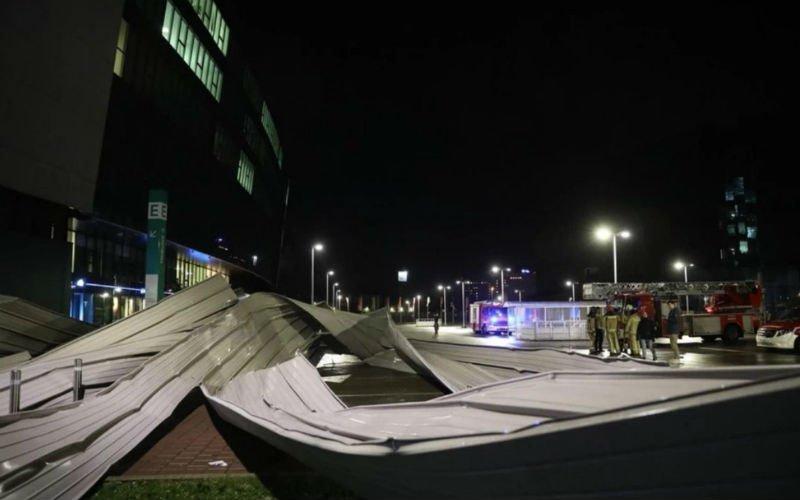 Meer nieuws over schade aan Ghelamco Arena na storm: