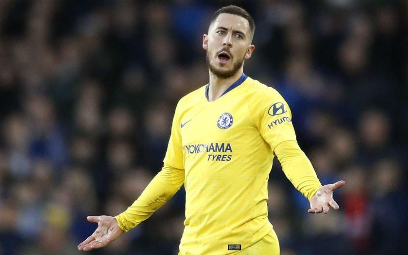 'Eden Hazard mag droomtransfer naar Real Madrid vergeten'