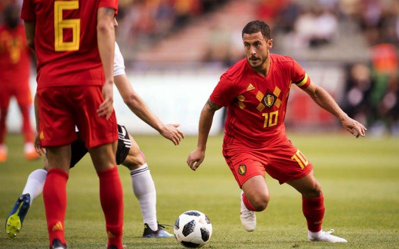 Vrees voor blessure na openingsmatch, Eden Hazard reageert