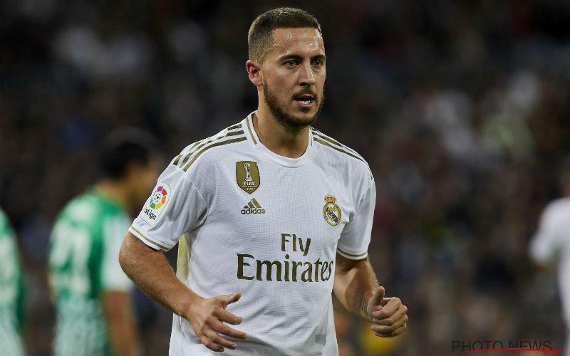'Eden Hazard zit diep in de problemen bij Real Madrid'