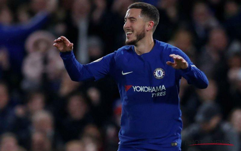 'Chelsea krijgt nieuws te horen over plannen Lopetegui met Hazard'