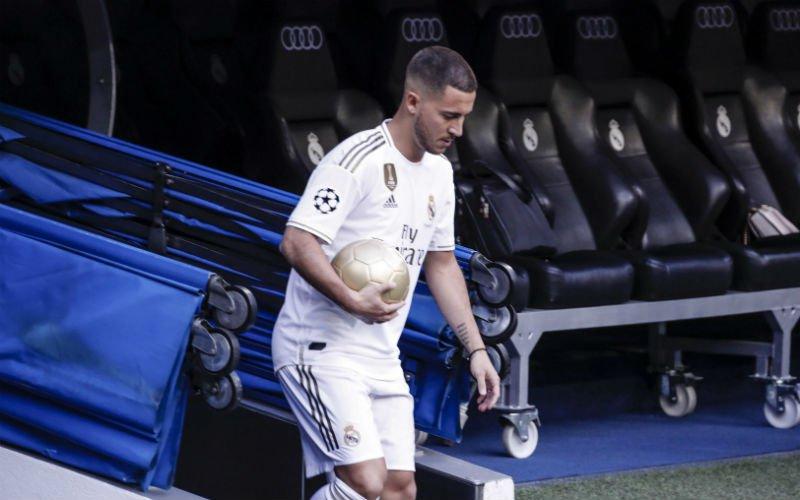 Dit enorme bedrag betalen fans voor Real-shirt van Eden Hazard