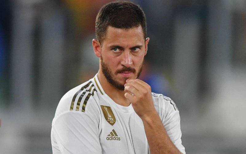 'Eden Hazard in de problemen bij Real Madrid'