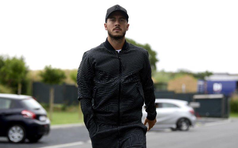 Hazard zorgt voor complete chaos: 'Real Madrid dreigt met juridische stappen'