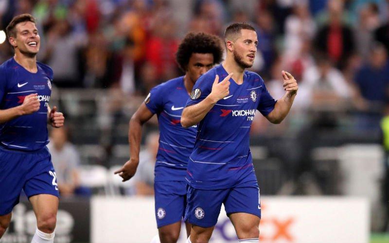 Weergaloze Hazard zwaait Chelsea uit met eindzege in Europa League