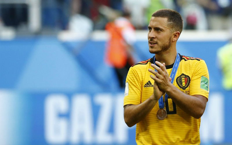 Sarri en Hazard praten over eventuele transfer naar Real Madrid
