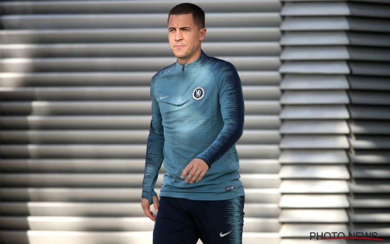 'Chelsea onderneemt meteen actie na transfergeruchten over Hazard'