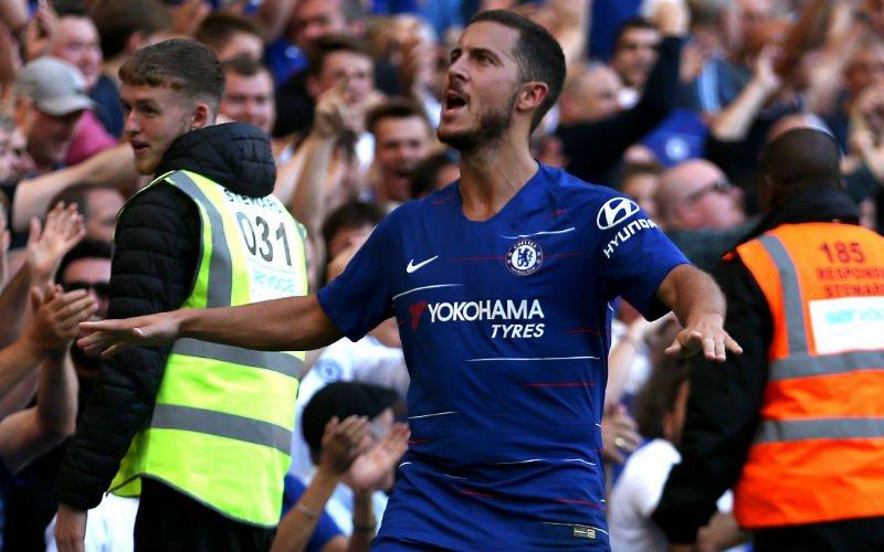 'Het is zeker: Hazard gaat vertrekken bij Chelsea'