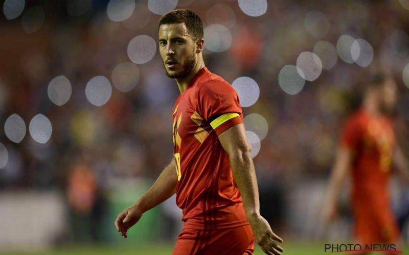 Aanvoerder Hazard benoemt de twee échte leiders van de Rode Duivels
