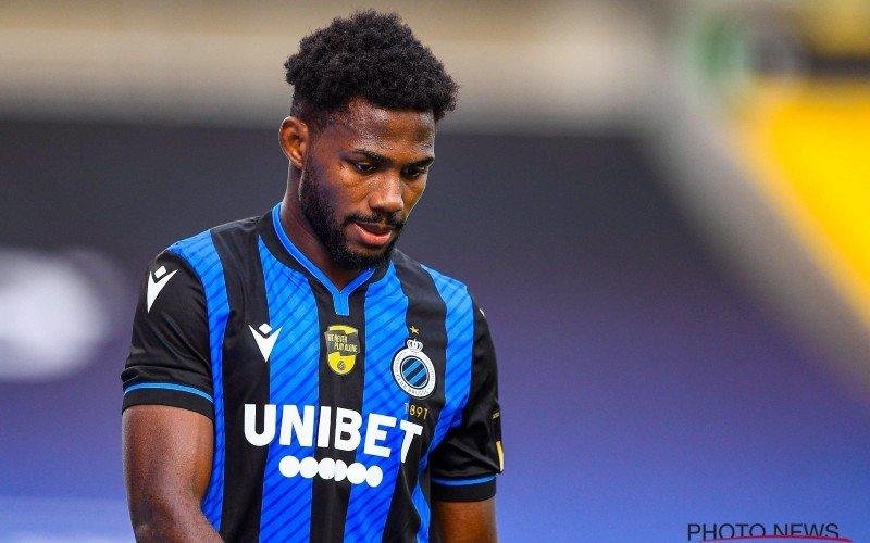 'Club Brugge krijgt erg goed nieuws te horen over Emmanuel Dennis'