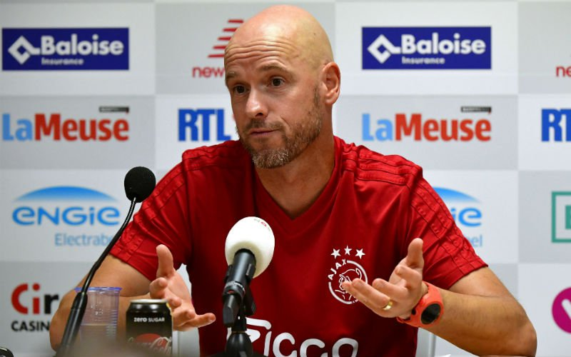 Ajax-coach Ten Hag: