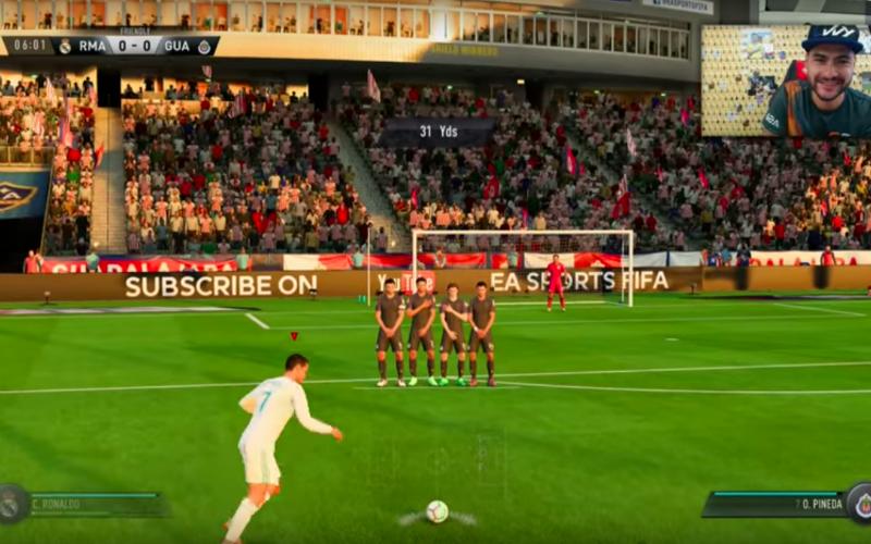 Zó trap je iedere vrije trap binnen op FIFA 18 (Video)