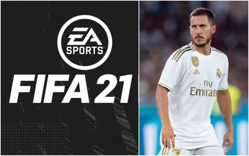 'EA Sports grijpt drastisch in, Eden Hazard krijgt deze rating op FIFA 21'