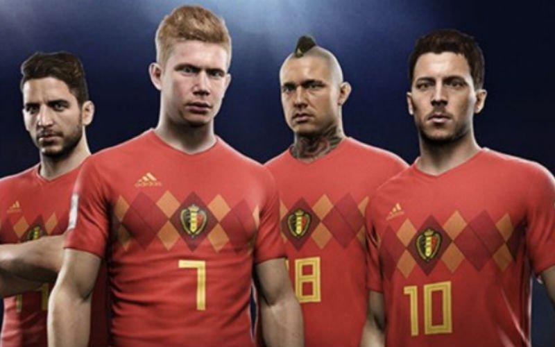 Onthuld! Dit zijn de ratings van alle Rode Duivels in nieuwe update FIFA 18