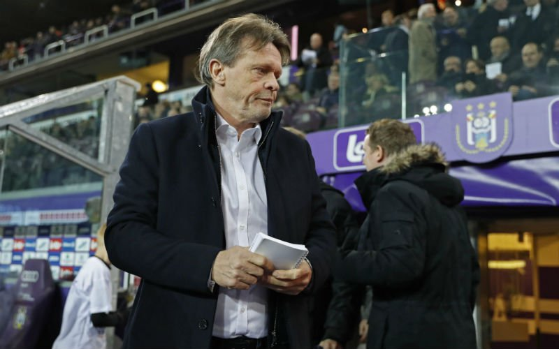 Frank Vercauteren al weg bij Anderlecht?