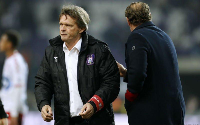 'Frank Vercauteren vertrekt mogelijk alweer bij Anderlecht'