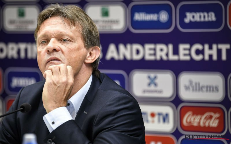 'Na komst Frank Vercauteren al meteen nieuw ontslag bij Anderlecht'