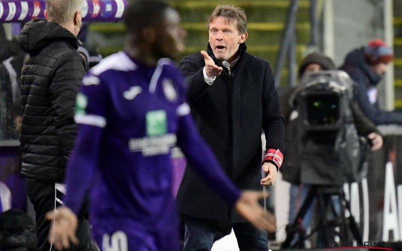Anderlecht kan opnieuw niet scoren, fans fluiten Vercauteren uit
