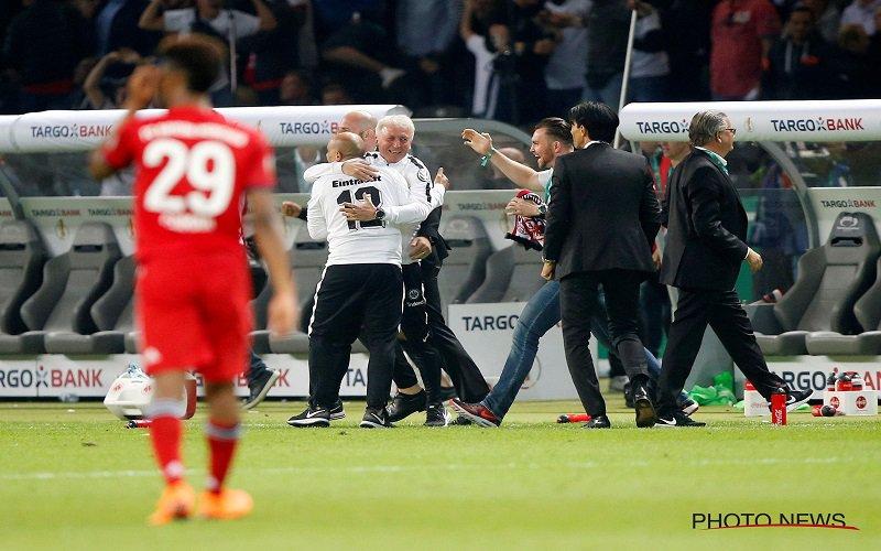Frankfurt verrast Bayern München en pakt de beker