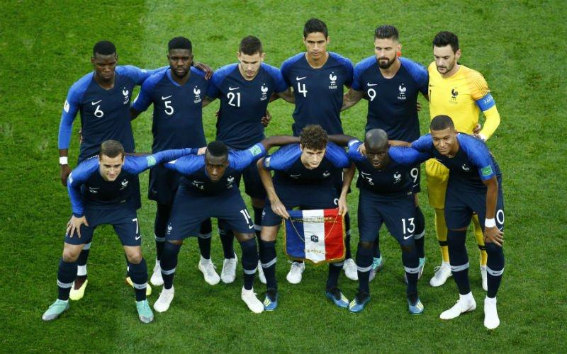 Belgische fans zien één gevaarlijke Fransman: