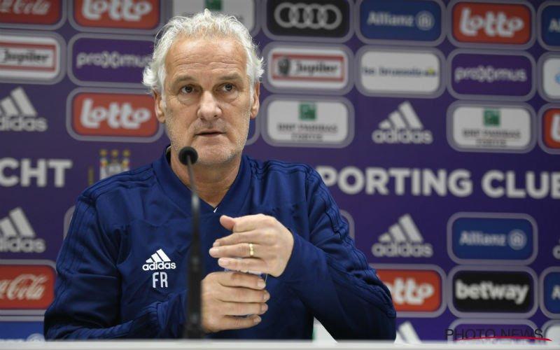 Fred Rutten haalt uit naar Anderlecht-beleid: