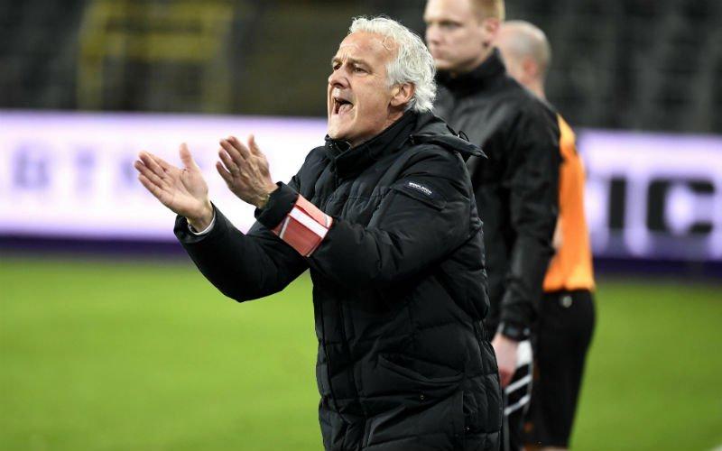 Conflict bij Anderlecht: 'Rutten wil deze belangrijke speler niet meer opstellen'