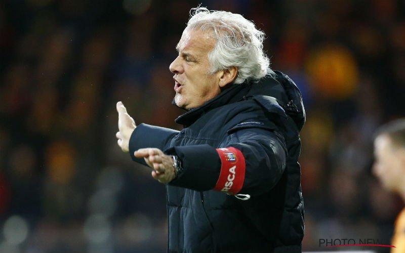 Fred Rutten niet tevreden bij Anderlecht:
