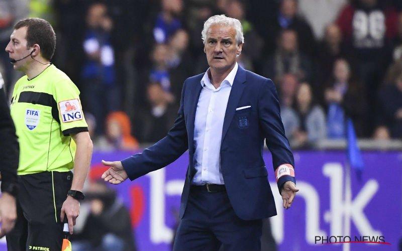 Gefrustreerde Fred Rutten haalt zwaar uit naar Anderlecht