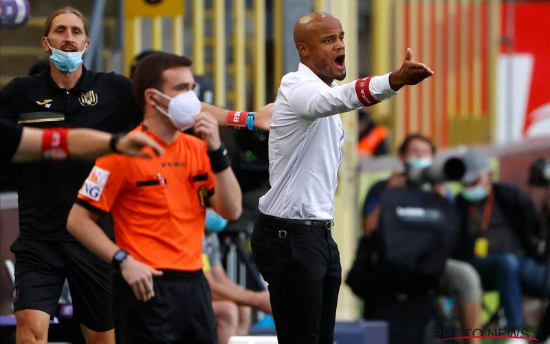 Grote zorgen voor Kompany bij Anderlecht: