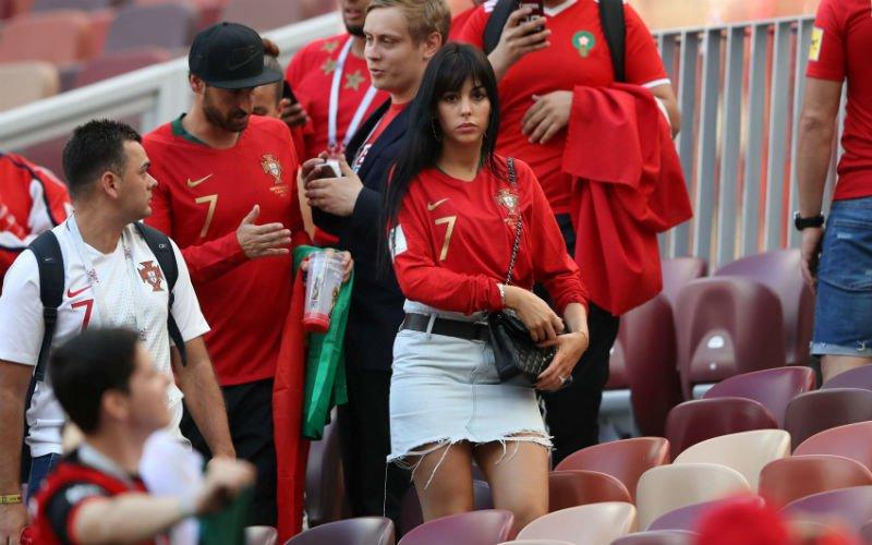 Op het veld steelt Ronaldo de show, ernaast is Georgina de ster (Foto's)
