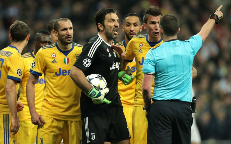 Buffon zwaar bestraft na woede-uitbarsting in CL-finale