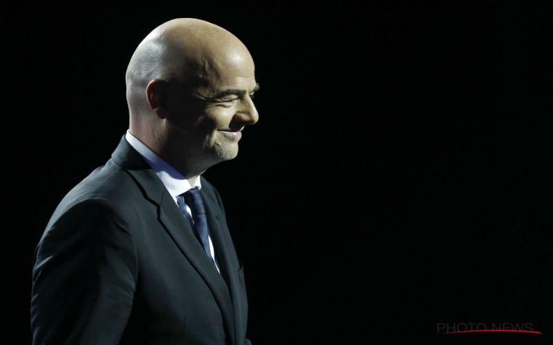 FIFA-voorzitter Infantino bevestigt data van WK 2022