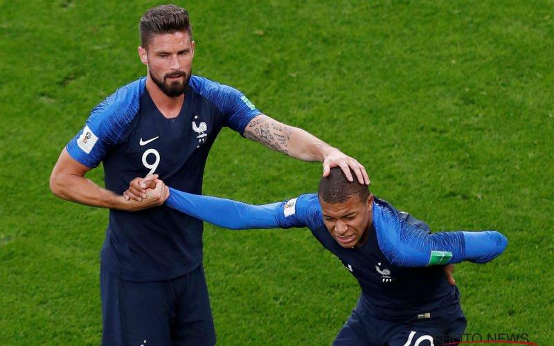 Er valt Gary Lineker iets vreemds op aan 'samenwerking Mbappé en Giroud