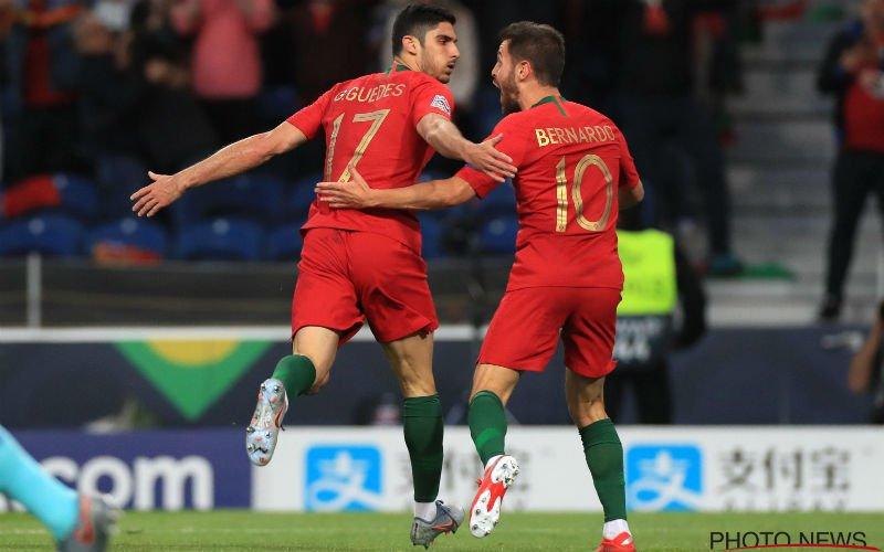 Portugal schrijft geschiedenis en wint eerste Nations League ten koste van Nederland