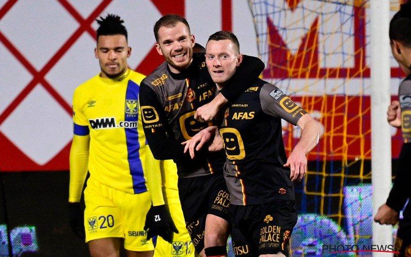 KV Mechelen wint bij STVV en duwt KRC Genk uit play-off 1